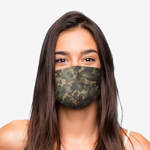 Reusable mouth and nose masks